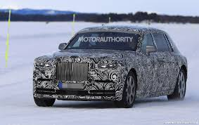rolls royce suv 2018 rolls royce phantom spy shots