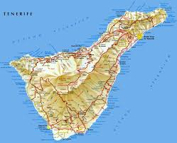 Detailed Map Of Spain by Large Tenerife Maps For Free Download And Print High Resolution