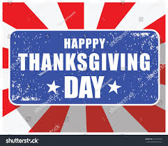 thanksgiving day st usa national colors stock vector 713129779