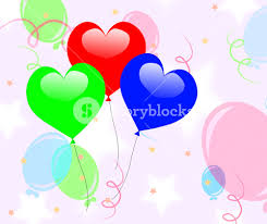colourful balloons meaning or celebration