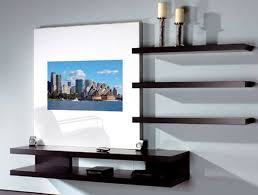 Living Room Lcd Tv Wall Unit Design Ideas Wall Tv Cabinet Designs
