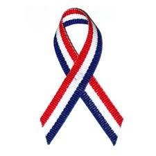 white blue ribbon white blue cloth flag ribbon flags pinmart pinmart