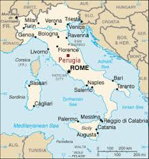 map of perugia programs brochure office of international engagement
