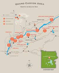 Buffalo Creek Trail Map Grand Canyon Of The Yellowstone Points Of Interest