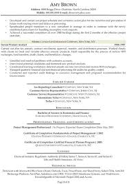 Analyst Resume Example Sample Resume For Bankers Business Financial Analyst Resume