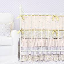 Gold Crib Bedding by Pink And Gold Baby Bedding U2013 Caden Lane