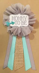 baby shower ribbon 12 best baby showers images on baby shower corsages