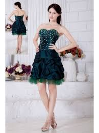dark green prom dresses evening gowns homecoming dresses