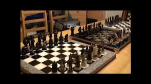 lord of the rings chess set 1 of 3 youtube