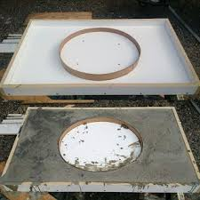 Diy Vanity Top Diy How To Create Poured Concrete Vanity Tops And Shower Curbs