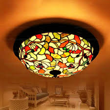 3 Bulb Flush Mount Ceiling Light Fixture Pretty 3 Light Leaf Pattern Flush Mount Ceiling Light
