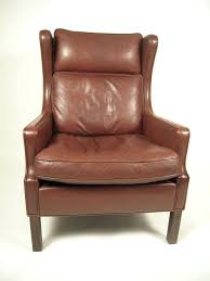 tufted leather wingback chair slisports com