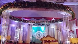 muslim wedding decorations muslim wedding reception stage decoration in trivandrum wedding