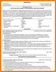 Software Developer Resume 8 Software Engineer Resume Examples Mbta Online