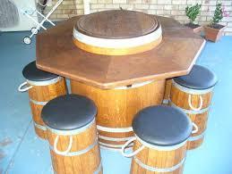 wine barrel bar table u2013 thelt co
