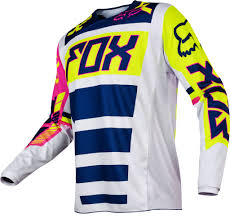 motocross gear for toddlers 2017 fox falcon kids youth 180 hc motocross jersey navy white