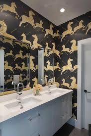 funky bathroom wallpaper ideas reasons to wallpaper your bathroom hgtvus rhhgtvcom colourful u
