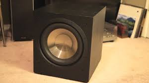 best home theater subwoofer for the money the bic f12 is the best cheap subwoofer review demonstration