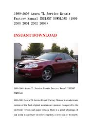 28 2001 acura tl repair manual 117579 honda pilot ridgeline