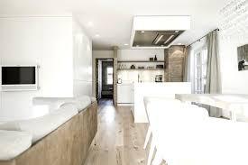 Wohnzimmer Modern Beton Moderne Kuche Mit Essecke Und Wohnzimmer Bigschool Info