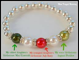 mothers bracelets with birthstones design a mothers bracelet with pearls by laurel miss frugal