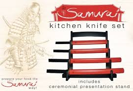katana kitchen knives cool kitchen tool samurai kitchen knife set vuing com