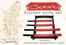 katana kitchen knives cool kitchen tool samurai kitchen knife set vuing com