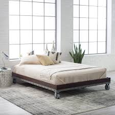 Platform Bed Without Headboard Bedroom Full Mattress Box Spring Beds That Do Not Need A