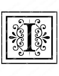 stencil decorative letter k 10x7 by artisticstencils on etsy