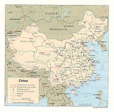 Blank Map Of The West Region by Chinese Geography Readings And Maps Asia For Educators