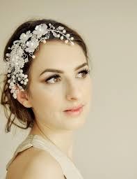 wedding headdress bridal headpiece wedding hair vine by hairbowswonderworld
