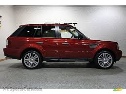 2009 land rover 2009 land rover range rover sport supercharged in rimini red
