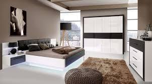 Schlafzimmer Und Babyzimmer In Einem Forte Möbel Schlafzimmer Recover In Weiss Hochglanz Schwarzeiche