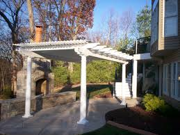 Vinyl Patio Cover Materials by Vinyl Pergola St Louis Decks Screened Porches Pergolas By