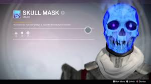 destiny year 2 awesome halloween mask youtube