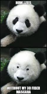 Panda Mascara Meme - mascara panda meme panda best of the funny meme
