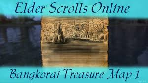 Greenshade Ce Treasure Map Bangkorai Treasure Map 1 The Elder Scrolls Online Bangkorai