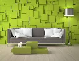 green living room to prove that green is the prettiest color