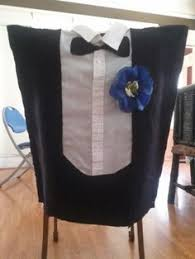 and groom chair covers and groom wedding chair covers tuxedo dress yardseller