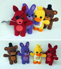 amigurumi patterns video the ultimate list of video game crochet patterns freddy s