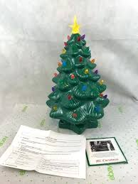 porcelain christmas tree with lights battery operated ceramic christmas tree luisreguero com