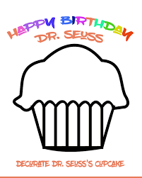 clip art happy birthday dr seuss coloring pages mycoloring free