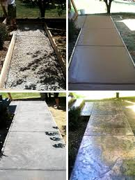 Pictures Of Stamped Concrete Walkways by Before And After
