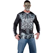 Halloween Skeleton Bodysuit Photo Real X Ray Shirt Halloween Costume Walmart Com
