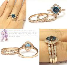 blue london rings images 1 028 cushion london blue topaz ring trio sets art deco diamond jpg