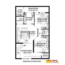 house plan for rectangular plot house and home design