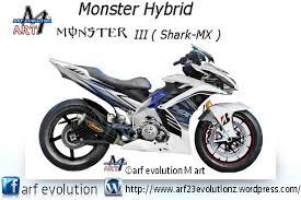 Modifikasi mobil dan motor jupiter mx arfevolutionmwordpress halaman 6 monster iii hybrid shark mx arf evolution m art