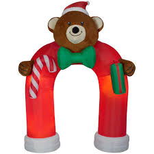 christmas inflatables christmas inflatables outdoor christmas decorations the home depot