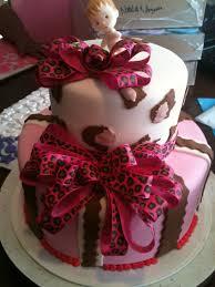 hector u0027s custom cakes pink cheetah print 2 tier