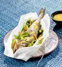 cuisiner le safran recette merlan en papillote sauce safran 750g